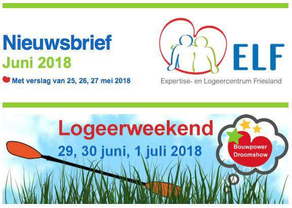 Nieuws van ELF over de Bouwpower Droomshow met speciale gasten en het verslag van mei