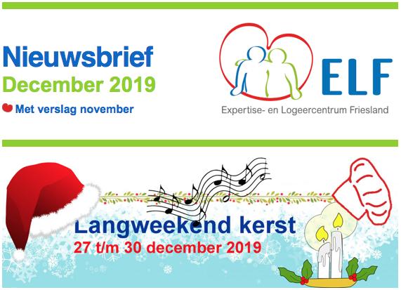 ELF nieuwsbrief december 2019