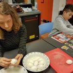 Foto's van het bezoek aan het Scheepvaartmuseum en het maken van de circusvoorstelling bij ELF
